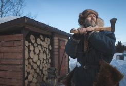 A Trapper's Life - Portrait of Roch Boivin. Photo by Dave Brosha.