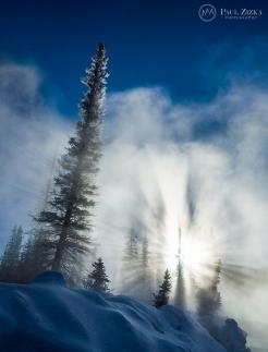 Winter Outburst. Photo by Paul Zizka.
