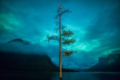 The Sentinel Lake Minnewanka. Photo by Paul Zizka.
