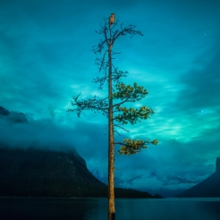 The Sentinel Lake Minnewanka. Photo by Paul Zizka.
